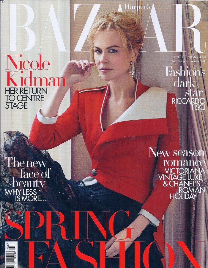 Harpers Bazaar March 2016 features Sophie Harley