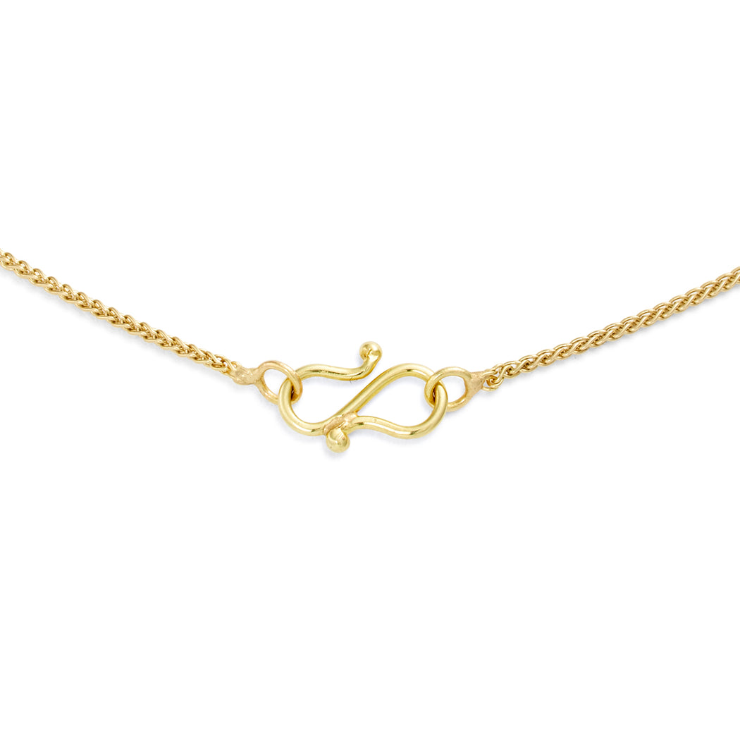 Gold & Diamond Luna Necklace