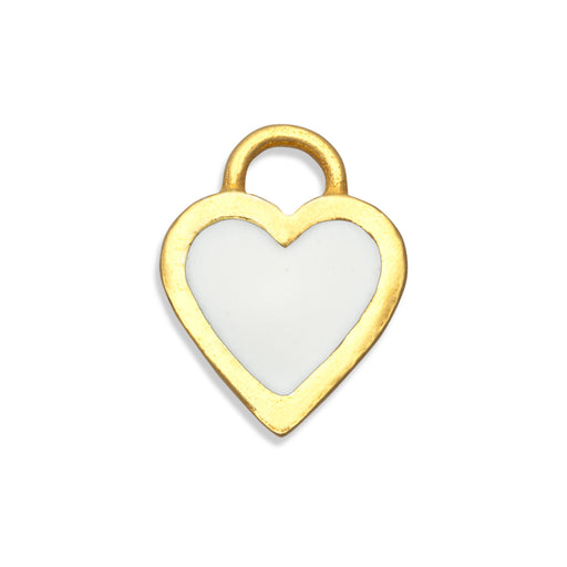 Snow White Classic Heart Charm
