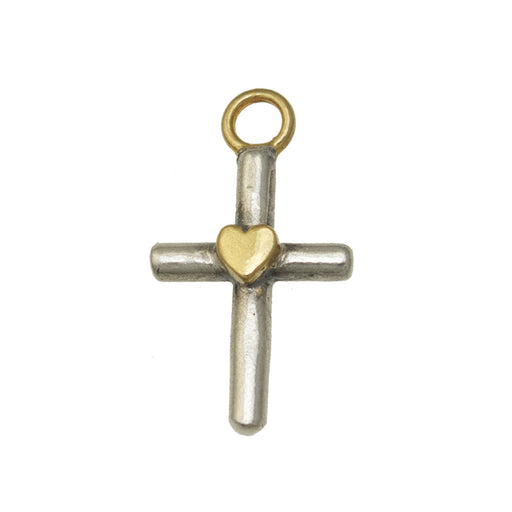 Tiny Cross Charm
