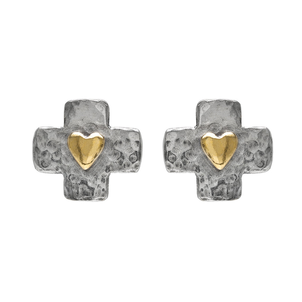 Byzantine Stud Earrings