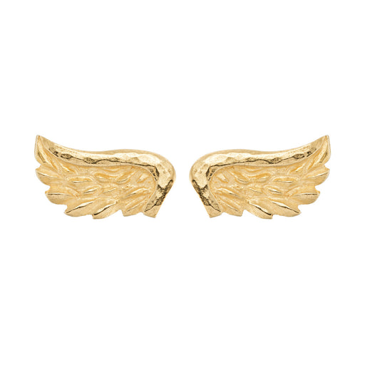 Venetian Wing Stud Earrings