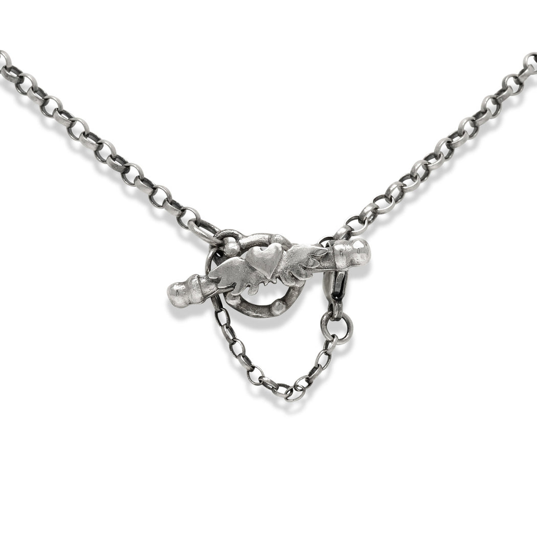 Diamond Love Letter Necklace