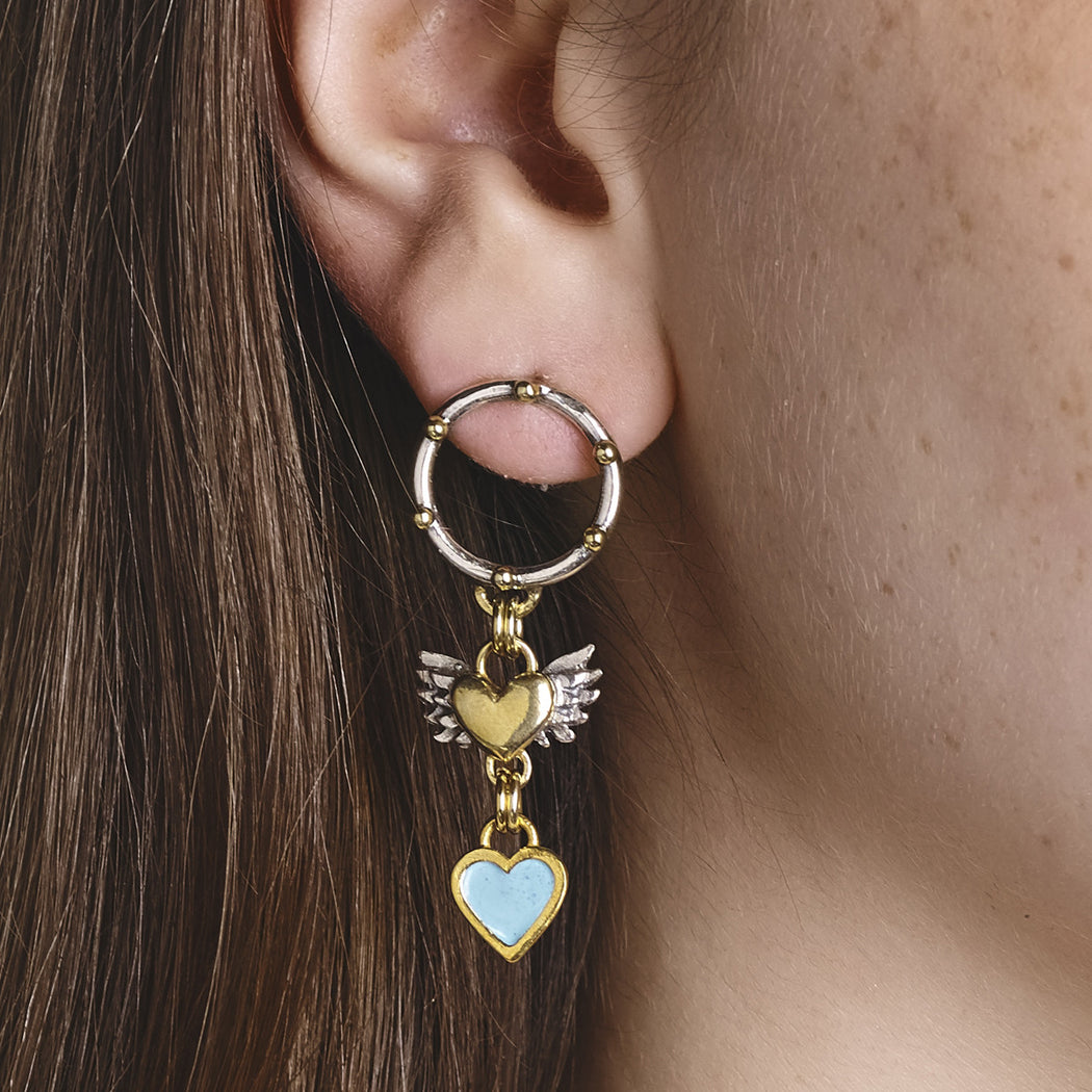 Frida Porthole Earrings