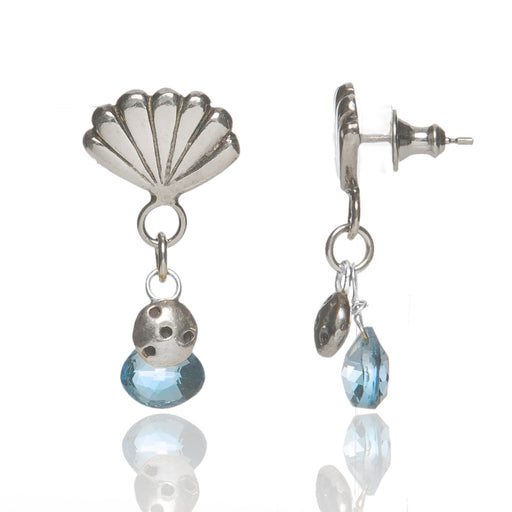 Shell & Pod Drop Earrings