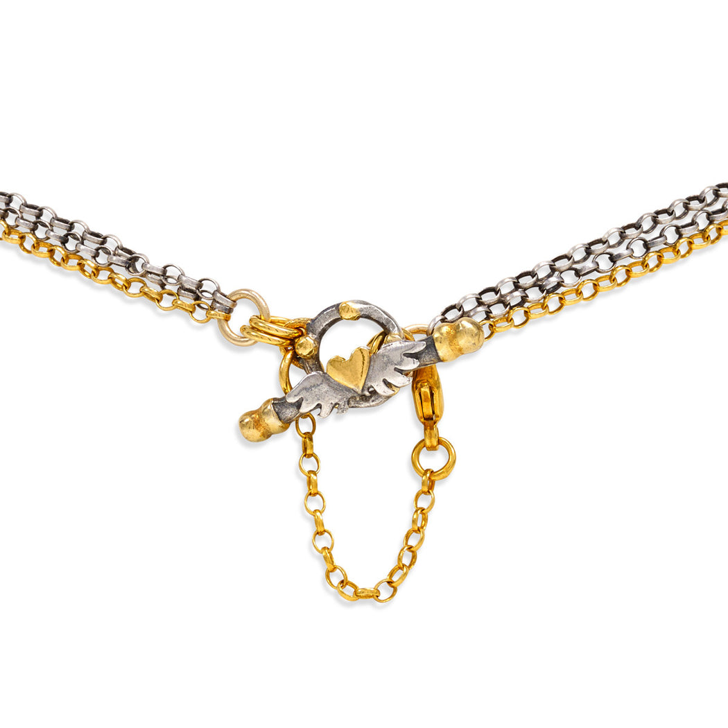 Fine Mini Loveknot Necklace