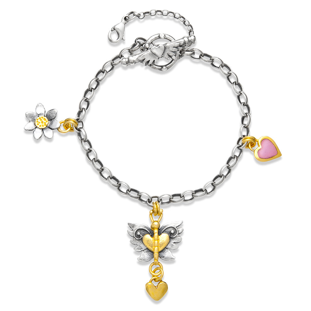 Angel Butterfly Bracelet
