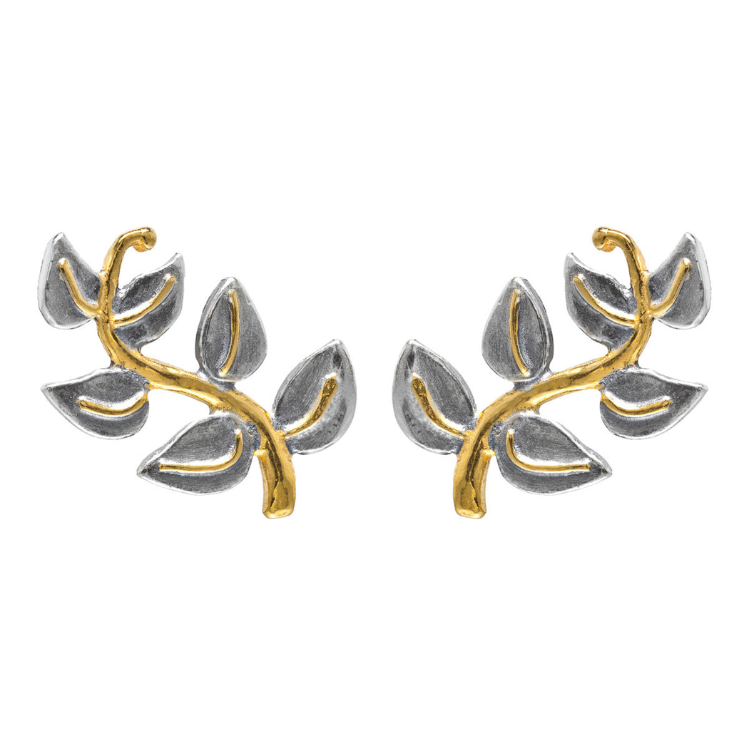 Branch Leaf Earrings