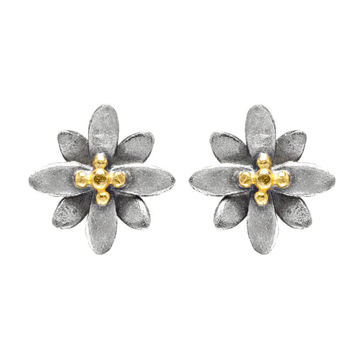 Spikey Flower Earrings