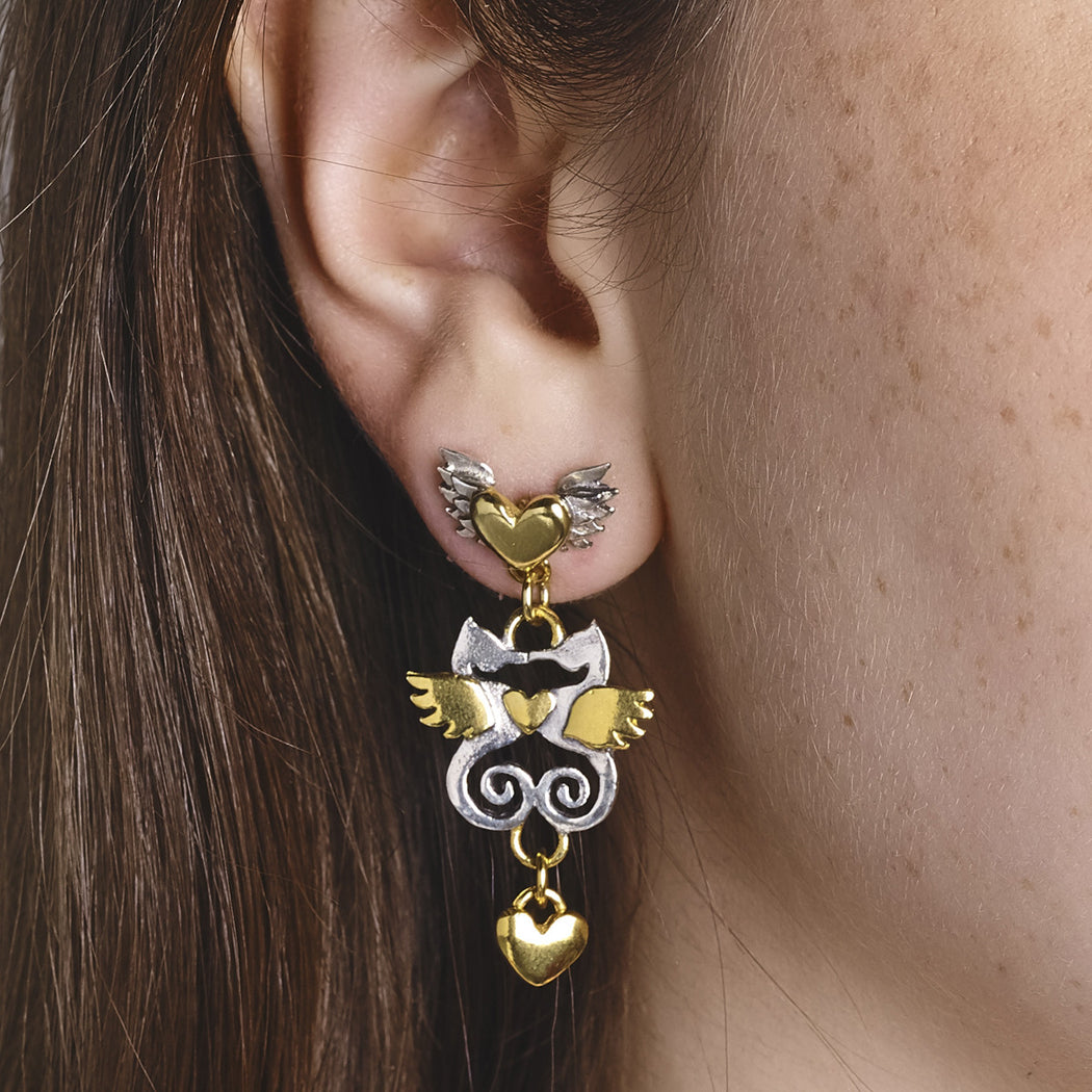 Kissing Seahorse Earrings