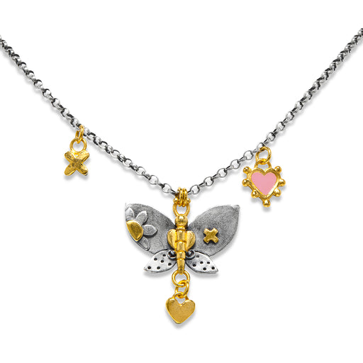 Flora Butterfly Necklace