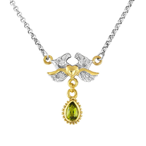 Adelphi Necklace with Peridot