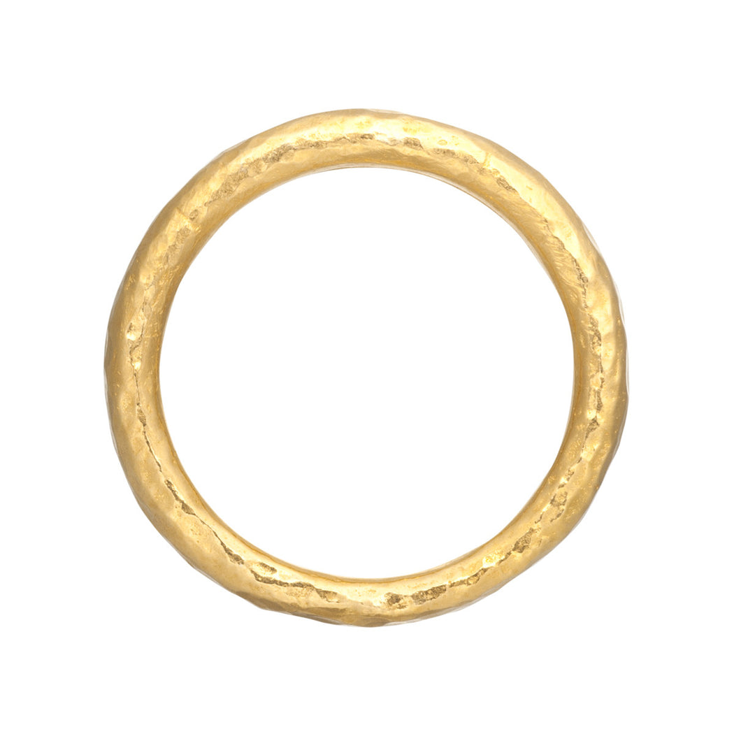 Chubby Hammered Ring