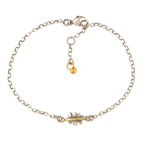 Tiny Oak Leaf Bracelet