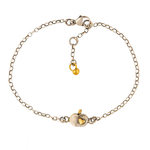 Tiny Apple Bracelet