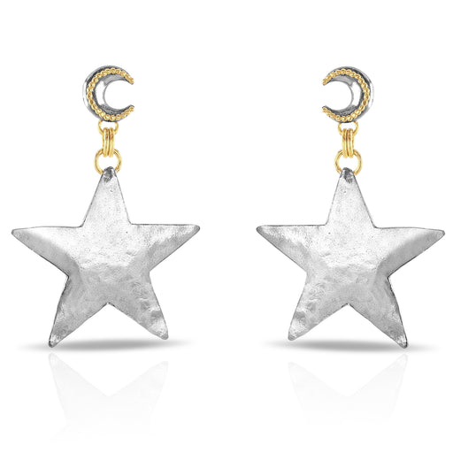 Vintage Star Earrings