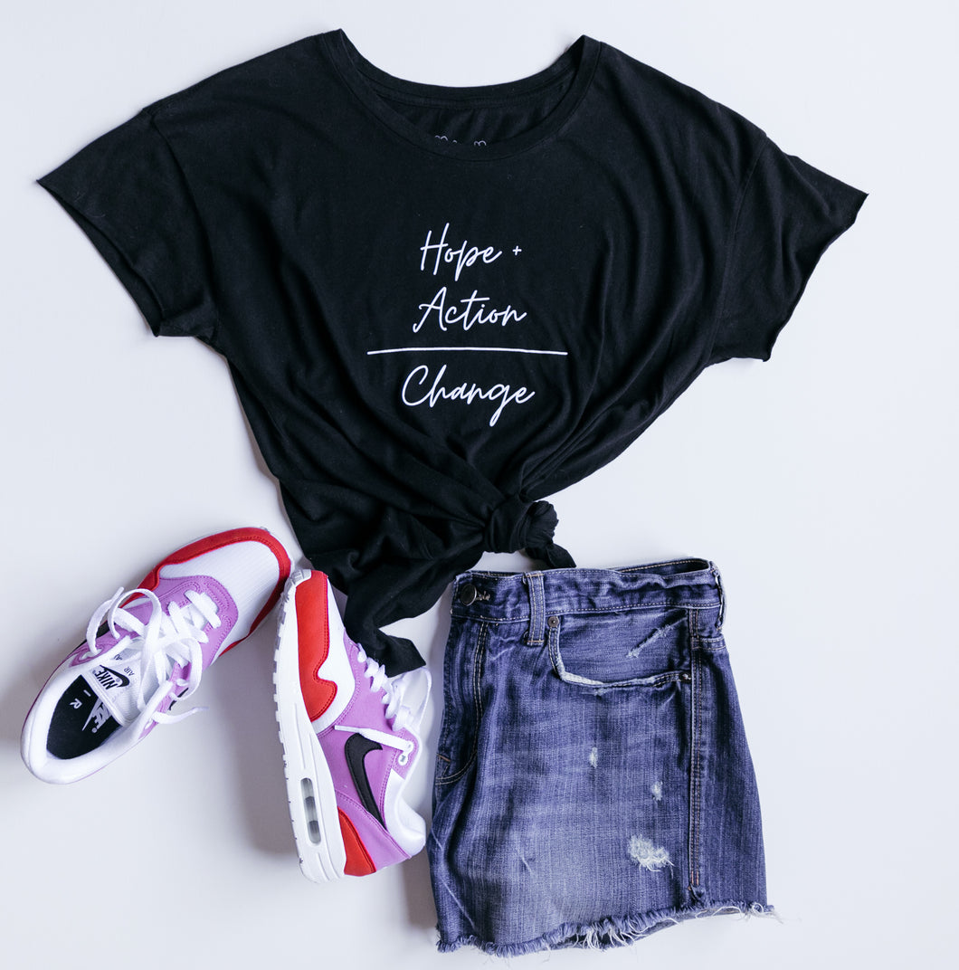 Hope + Action Tee