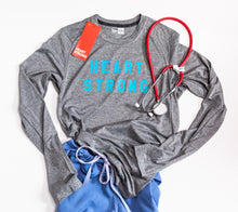 Heart Strong for Healthcare Strong Long Sleeve Performance Shirt