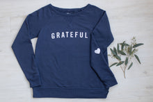 Women's Grateful Sweatshirt w/Heart Sleeve