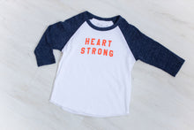 Toddler Heart Strong Raglan