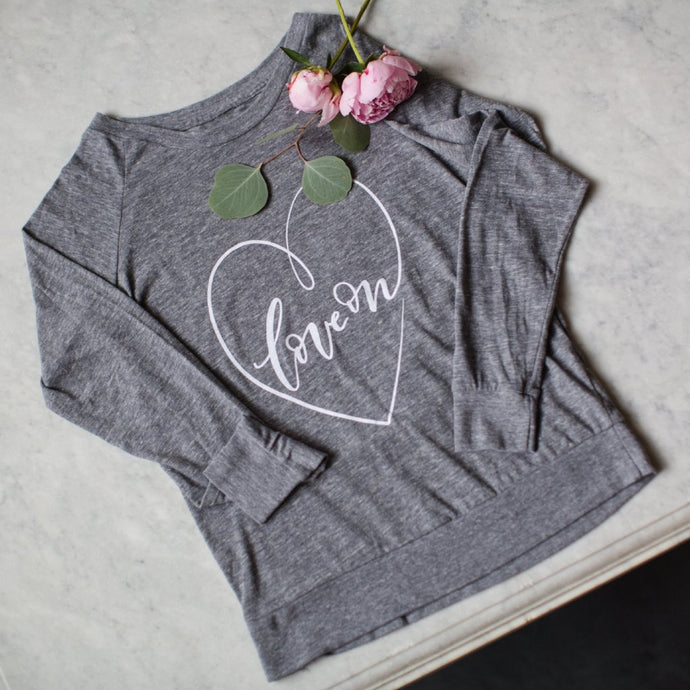 Women's Love On Long Sleeve