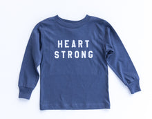 Classic Kids Heart Strong Long Sleeve Tee
