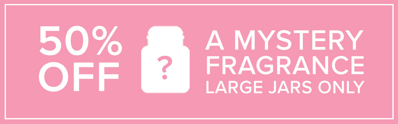 50% off a Mystery Fragrance!