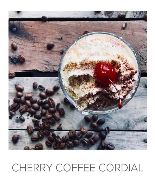 Cherry Coffee Cordial