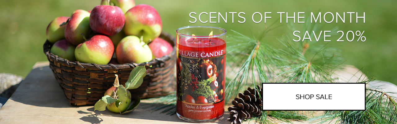 20% Off Scents of the Month