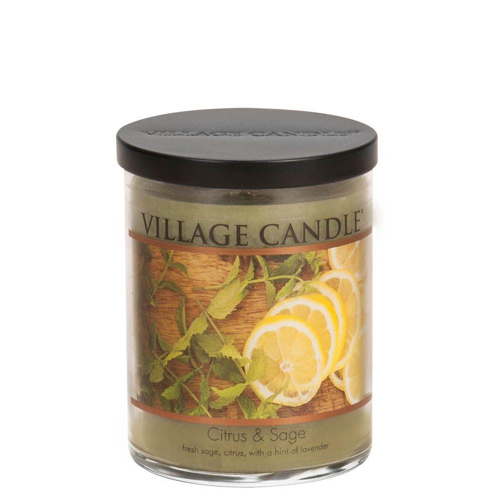 Citrus & Sage Medium Tumbler Decor Scented Candle