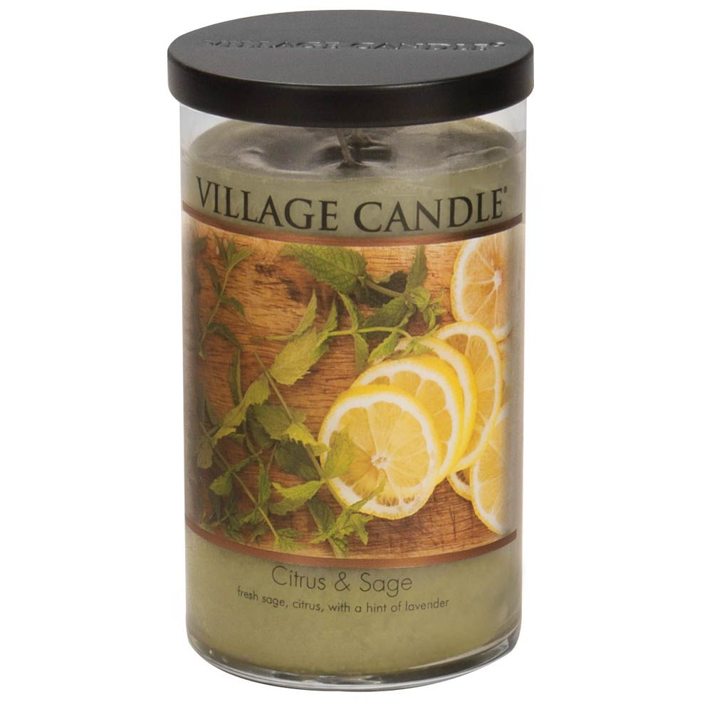 Citrus & Sage Large Tumbler Decor Scented Candle