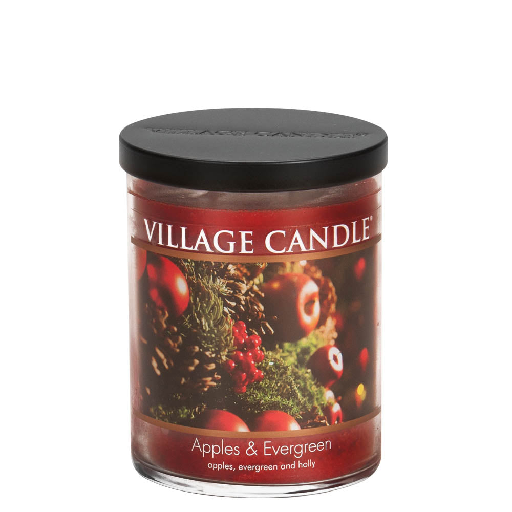 Apples & Evergreen Medium Tumbler Decor Scented Candle