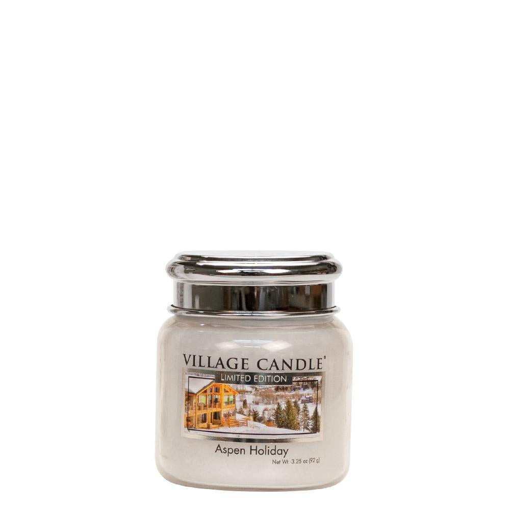 Aspen Holiday Petite Glass Jar Limited Edition ML