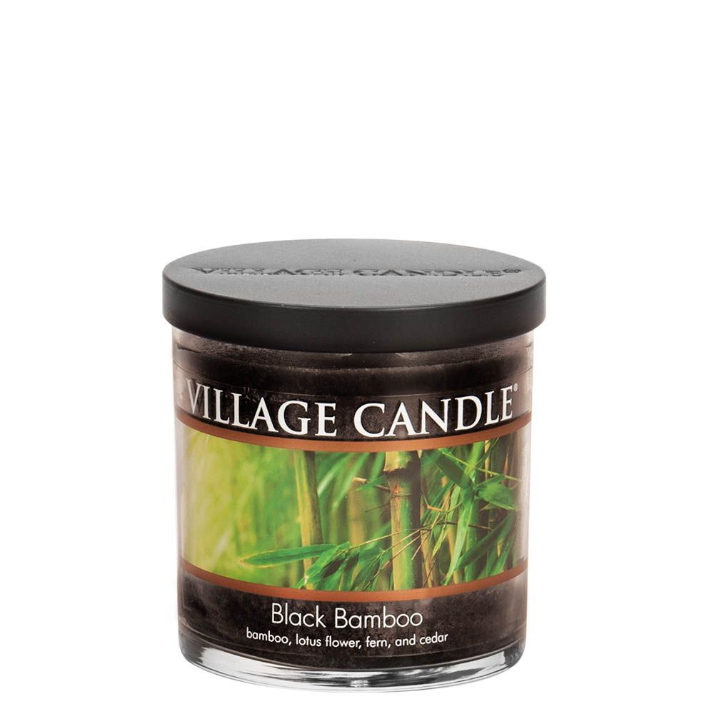 Black Bamboo Small Tumbler Decor Scented Candle