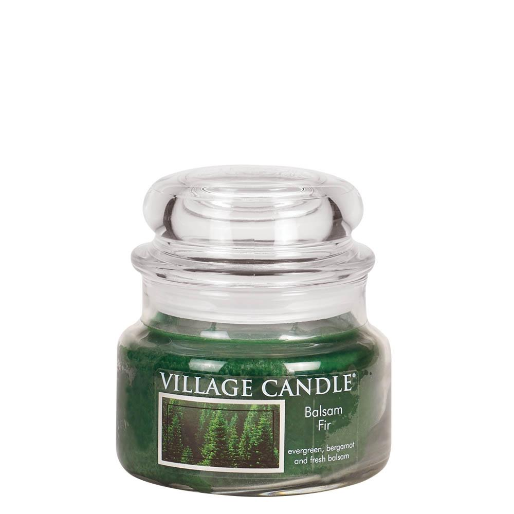Balsam Fir Small Glass Jar Traditions Scented Candle