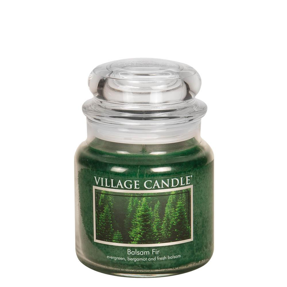Balsam Fir Medium Glass Jar Traditions Scented Candle