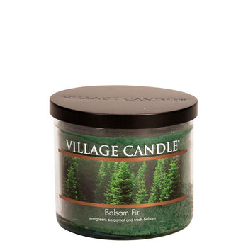 Balsam Fir Medium Bowl Decor Scented Candle