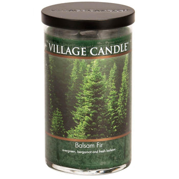 Balsam Fir Large Tumbler Decor