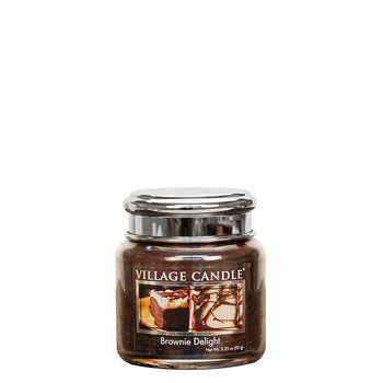 Brownie Delight Petite Glass Jar Metal Lid