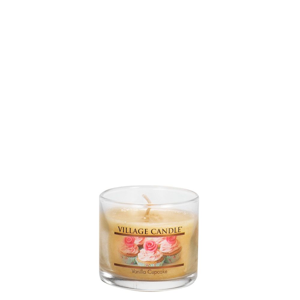 Vanilla Cupcake Mini Decor Scented Candle