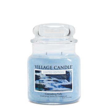 Cascading Falls Medium Glass Jar Limited Edition ML