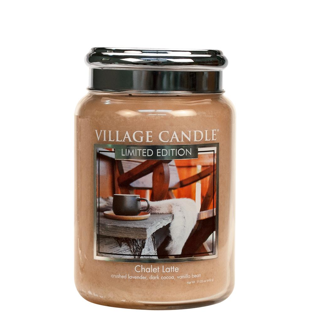Chalet Latte Large Glass Jar Limited Edition ML