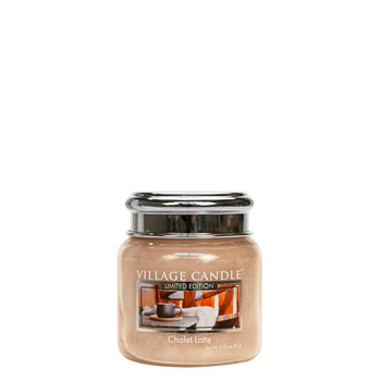 Chalet Latte Petite Glass Jar Limited Edition ML