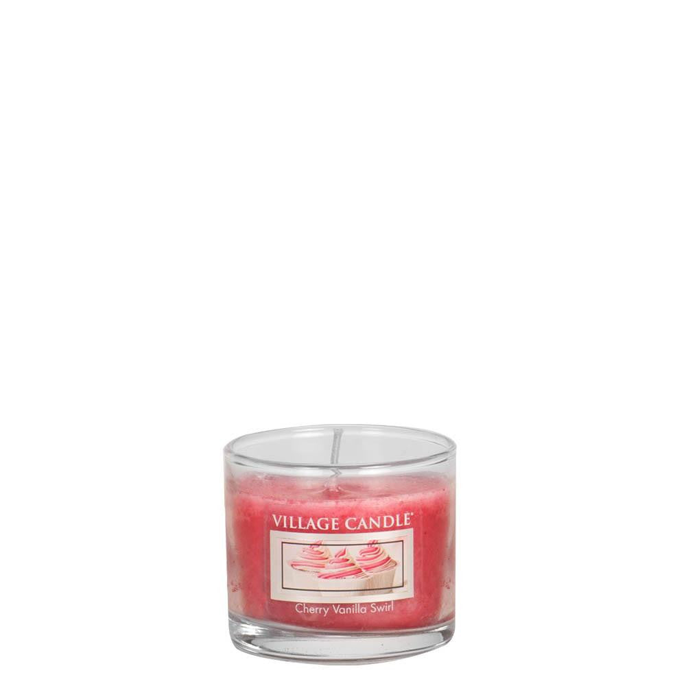 Cherry Vanilla Swirl Mini Traditions Scented Candle