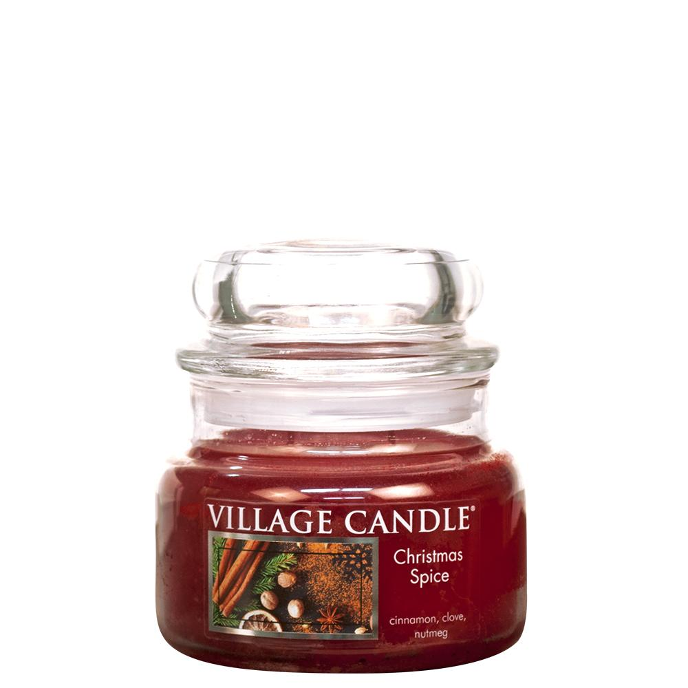 Christmas Spice Small Glass Jar Traditions