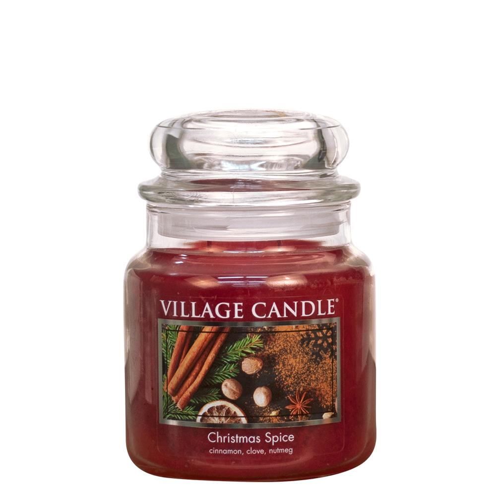 Christmas Spice Medium Glass Jar Traditions