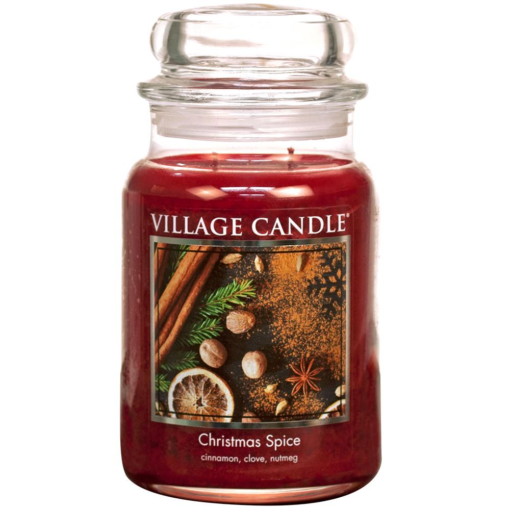 Christmas Spice Large Glass Jar Traditions