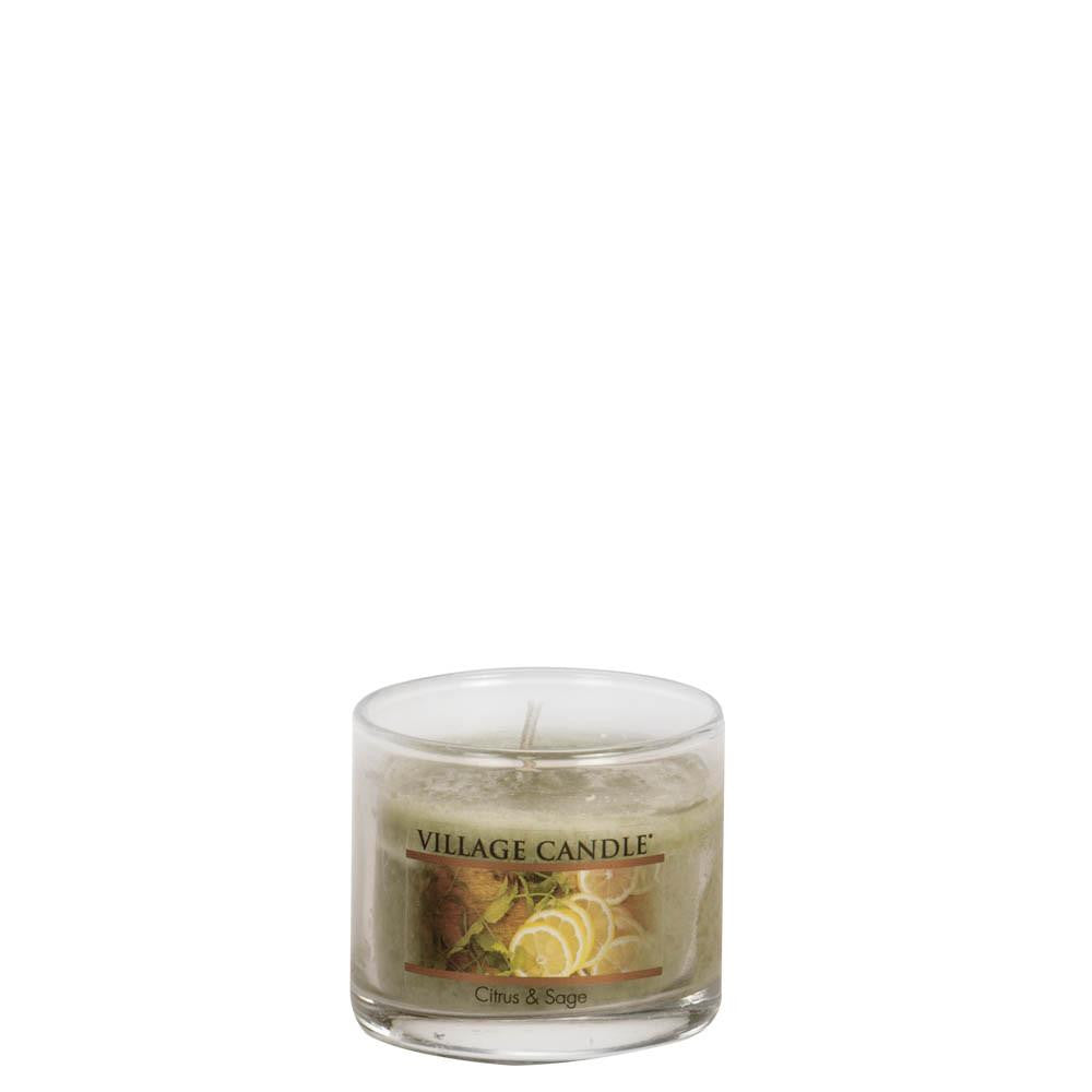 Citrus & Sage Mini Decor Scented Candle