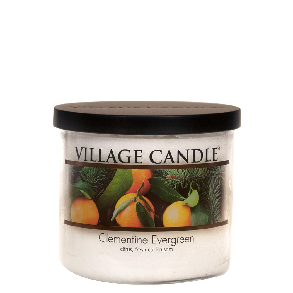 Clementine Evergreen Medium Bowl Decor| Village Candle