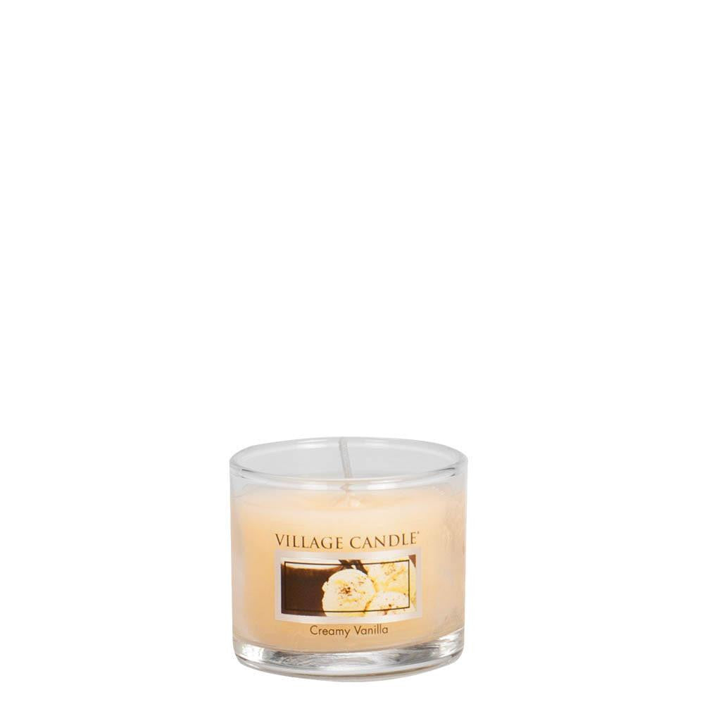 Creamy Vanilla Mini Traditions Scented Candle